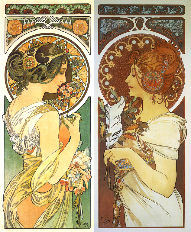 Art Nouveau Woman Mucha | www.imgkid.com - The Image Kid ...