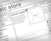 Webサイトの骨組み: ワイヤーフレーム