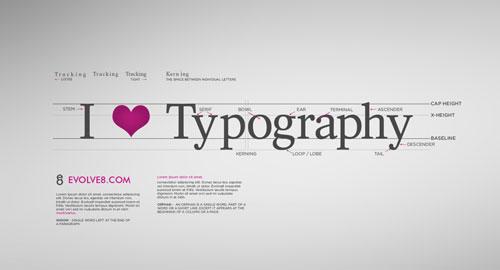 グラフィックデザイン: タイポグラフィを使ったデスクトップ画像
