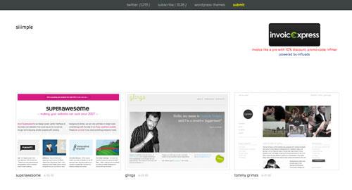 Webデザイン: ミニマルデザインのWebサイトを集めたギャラリー