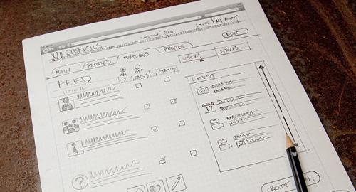 Webデザイナーのためのノート&スケッチブック
