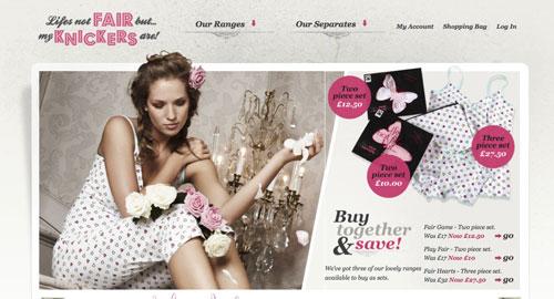 Webデザイン ECサイト