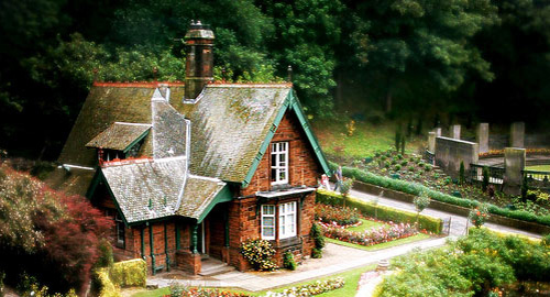 童話にでてくるようなかわいいお家