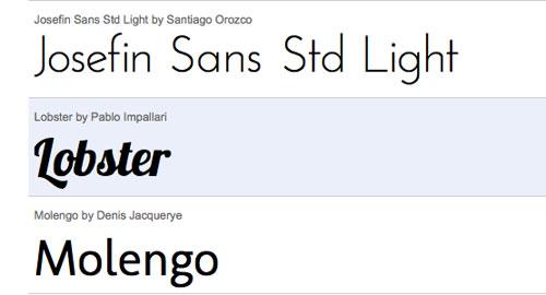 Google Font APIがリリース