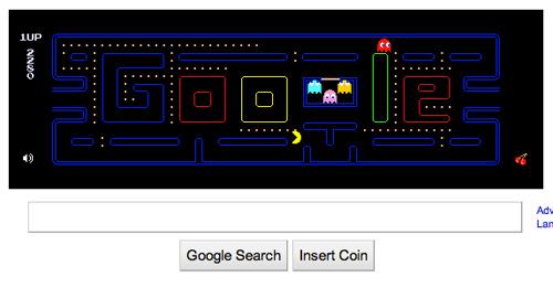 Googleのパックマン、多大な損失をもたらす