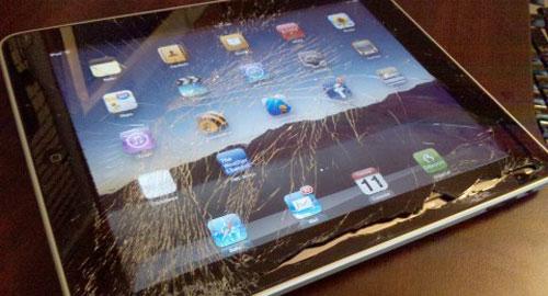 iPadが壊れた