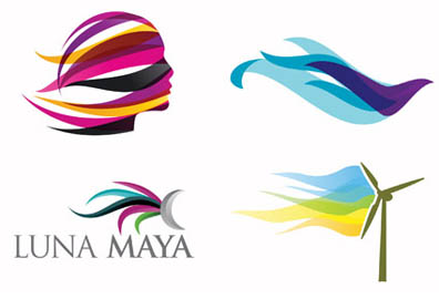 今年流行りのロゴデザイン