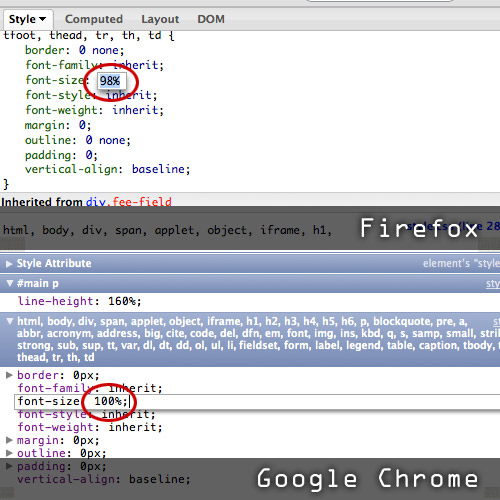 Firefox firebug
