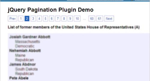ページ移動の必要が無くなるページング系jQueryプラグイン