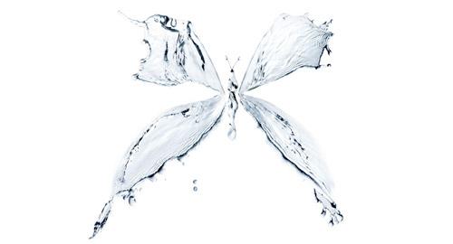 グラフィックデザイン: 水を使った28の美しいデザイン