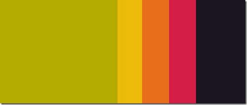 Webデザイン: 要ブックマーク!うっとりしてしまう100の配色パターン