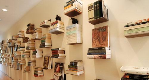 プロダクトデザイン: クリエイティブな本棚
