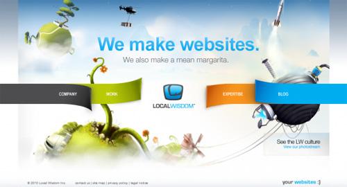 CSSの使い方が秀逸な27のWebサイト