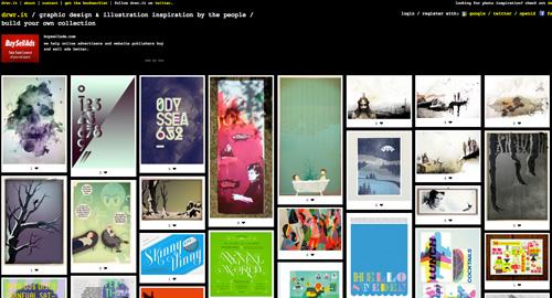 グラフィックデザイン: ポスター、イラスト等のグラフィックデザインを集めたサイト【drwr.it】