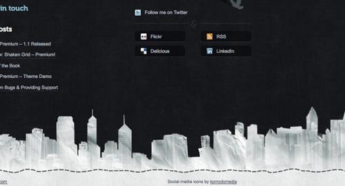 Webデザイン: パッと目を引くフッターデザイン