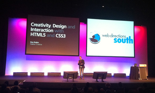 Creativity, design and interaction with HTML5 and CSS3 - Dan Rubin