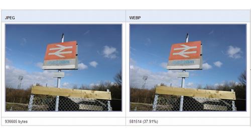 Web高速化を目指し新画像フォーマット「WebP」を発表