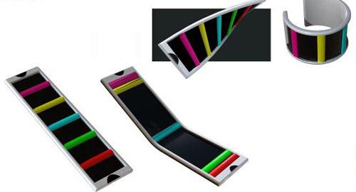 携帯電話のデザインアイデア