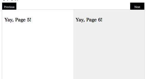 本をめくるような表現を実現するjQueryプラグイン「Viewbook」