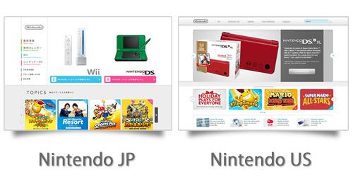 同じ企業の日本向けサイトと海外向けサイトのWebデザインを比較してみる