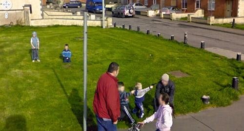 Googleストリートビューが捕らえたおもしろ&衝撃的な写真いろいろ