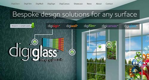 半透明の効果をうまく利用しているWebサイト