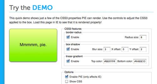 たった一行を追加するだけでIE6/7/8をCSS3対応にする -CSS3 PIE