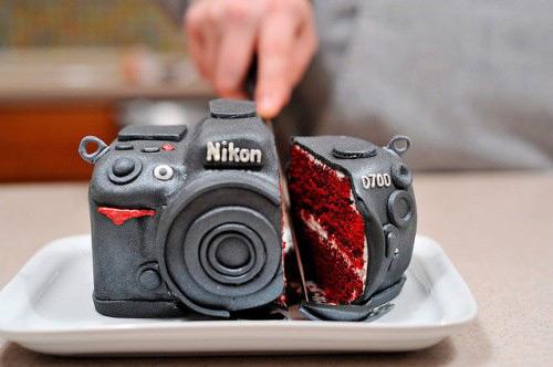 ユーモアあふれるケーキデザイン