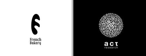 モノクロのロゴ