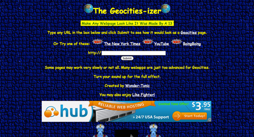 Geocities-izer