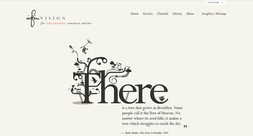 デザインの参考になる新しいWebサイト30