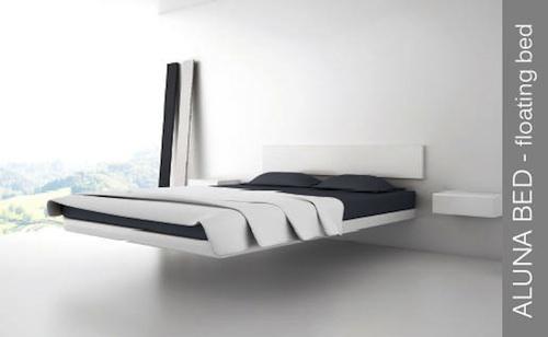浮いているように見える家具