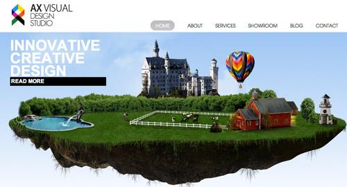 HTML5を使ったWebサイト