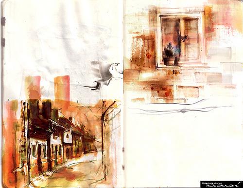 モレスキンに描かれた50のアート