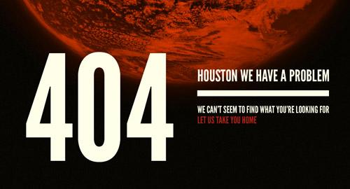 404エラーページデザイン