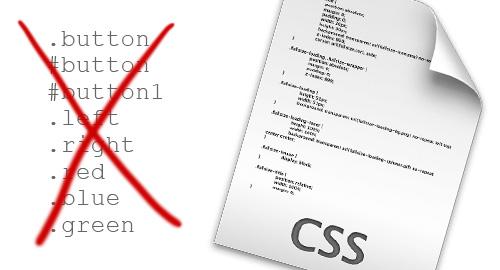 CSSのクラスやIDの名前