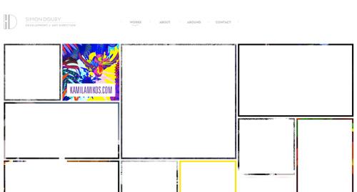 個性的なデザインや作りのWebサイト