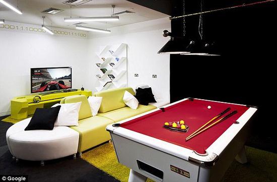 グーグル社のロンドンオフィスが凄い