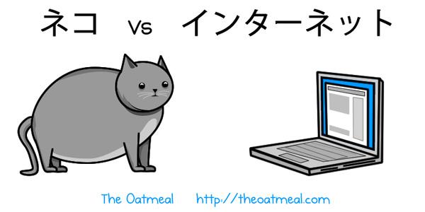 ネコ vs インターネット
