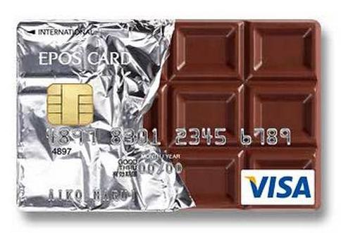 クリエイティブすぎるクレジットカードのデザイン