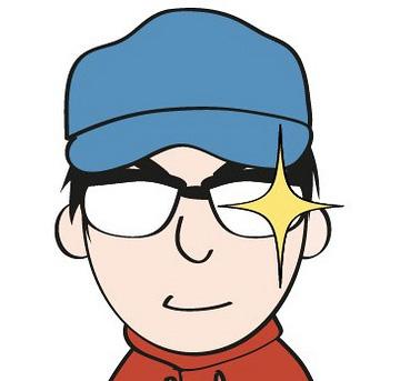 WebクリエーターボックスのManaさんに似顔絵を描いてもらっちゃいました