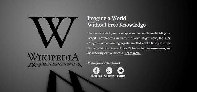 SOPA抗議活動をひもとく
