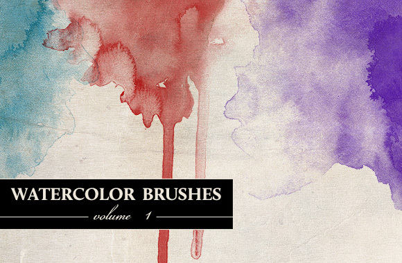 WG Watercolor Brushes Vol1