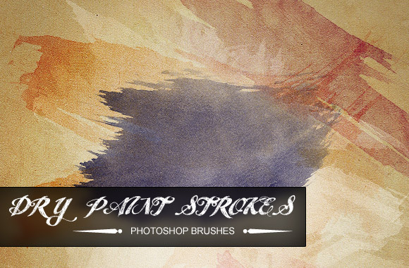 WG Dry Paint Strokes
