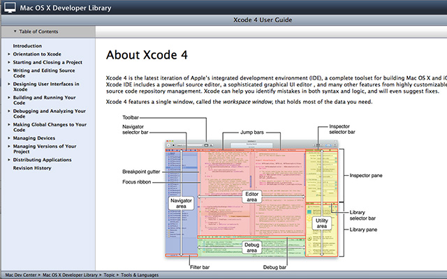 Xcode 4 User Guide