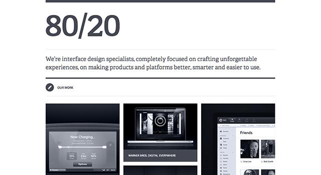 シンプル&ミニマルなWebデザイン