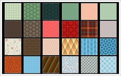 細かい柄のパターン素材