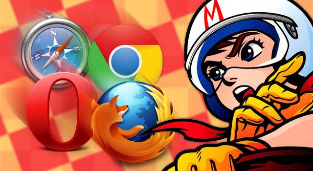 Mac主要ブラウザのスピード対決