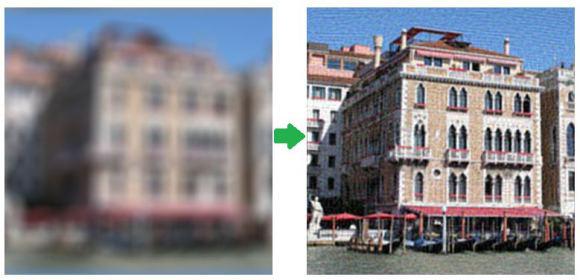 ピンぼけ写真を修復できるプログラムが開発される