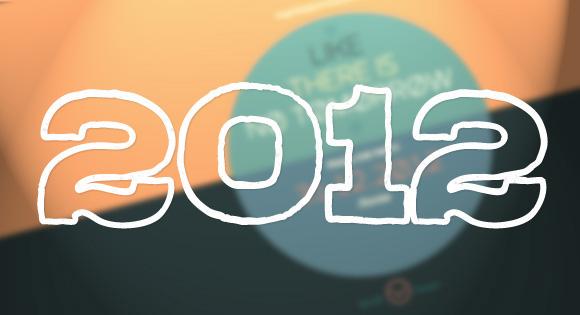 2012年で目立っていたクリエイティブなWebデザイン